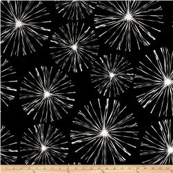 Premier Prints Indoor/Outdoor Sparks Black