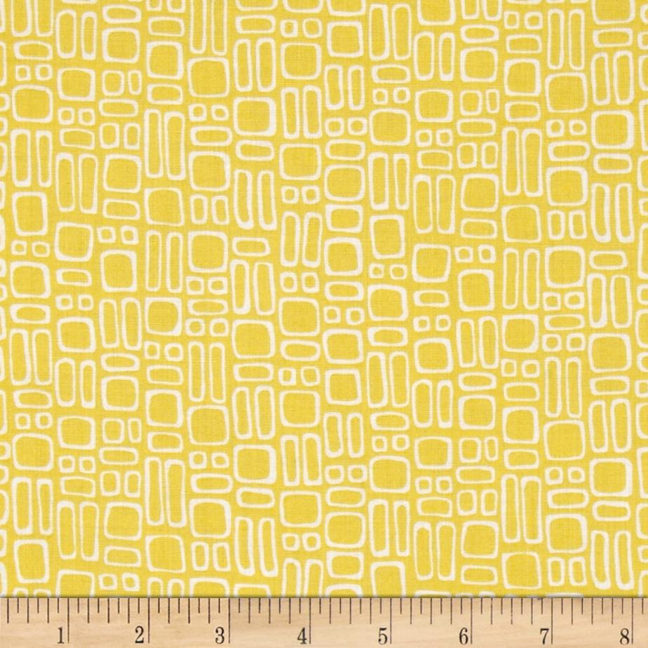 Dazzle Small Shapes Yellow