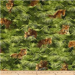 Jungle Minis Big Cat Multi Fabric
