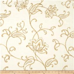 Fabricut Maple Lake Linen Blend Ivory
