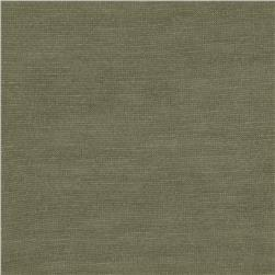 Tissue Rayon Cotton Jersey Knit Olive Green