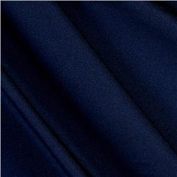 Nylon Spandex Activewear Knit Solid Navy