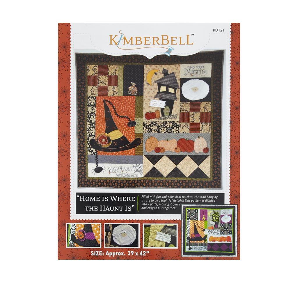 Kimberbell kids home is where the haunt is pattern for Childrens patterned fabric