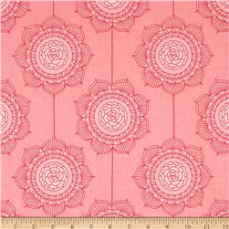 Riley Blake The Cottage Garden Wallpaper Pink