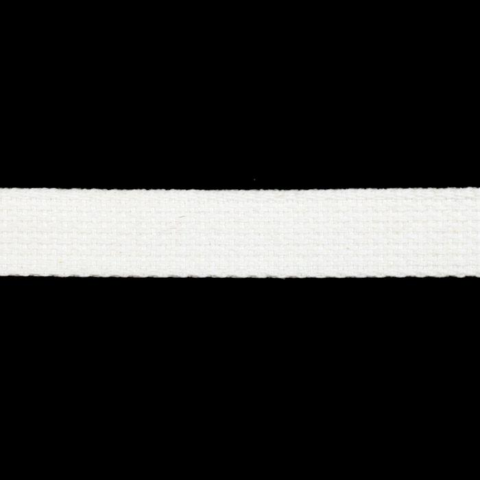 Cotton Webbing 1'' White