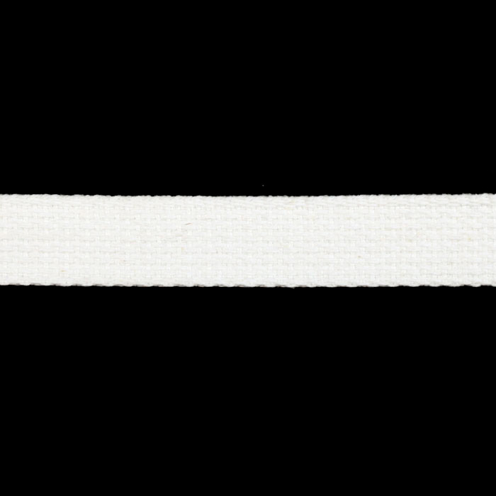 Cotton Webbing 1'' White by Notions Marketing in USA