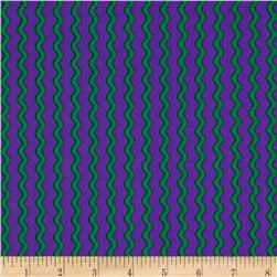Under The Sea Wavy Stripe Green/Purple