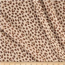Chiffon Brown Cheetah Hearts Tan