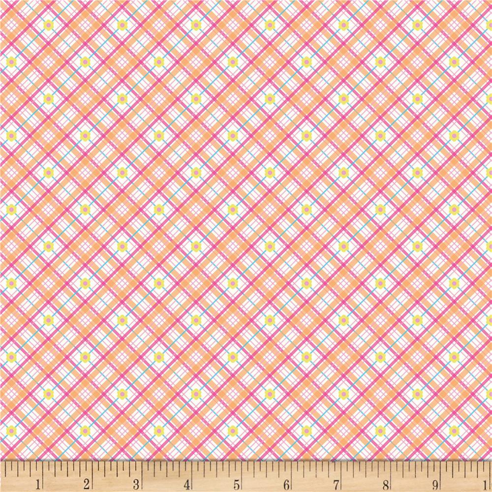 Riley Blake Sweet Home Plaid Orange