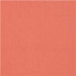 Designer Essentials Cotton Voile Coral Orange