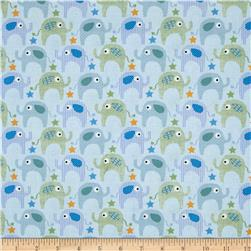 Le Elephant Little Elephants Blue