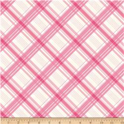 Riley Blake British Invasion Plaid Pink