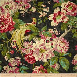 Waverly Floral Engagement Twill Nightfall