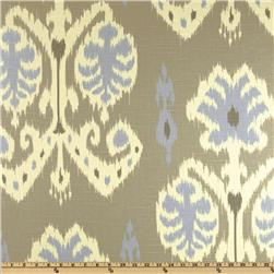 Home Accents Caftan Ikat Dove Grey Fabric