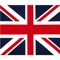 Riley Blake Union Jack 36'' Panel Blue Fabric