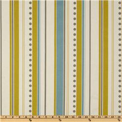 Premier Prints Brook Stripe Summerland Citrine/Natural Fabric
