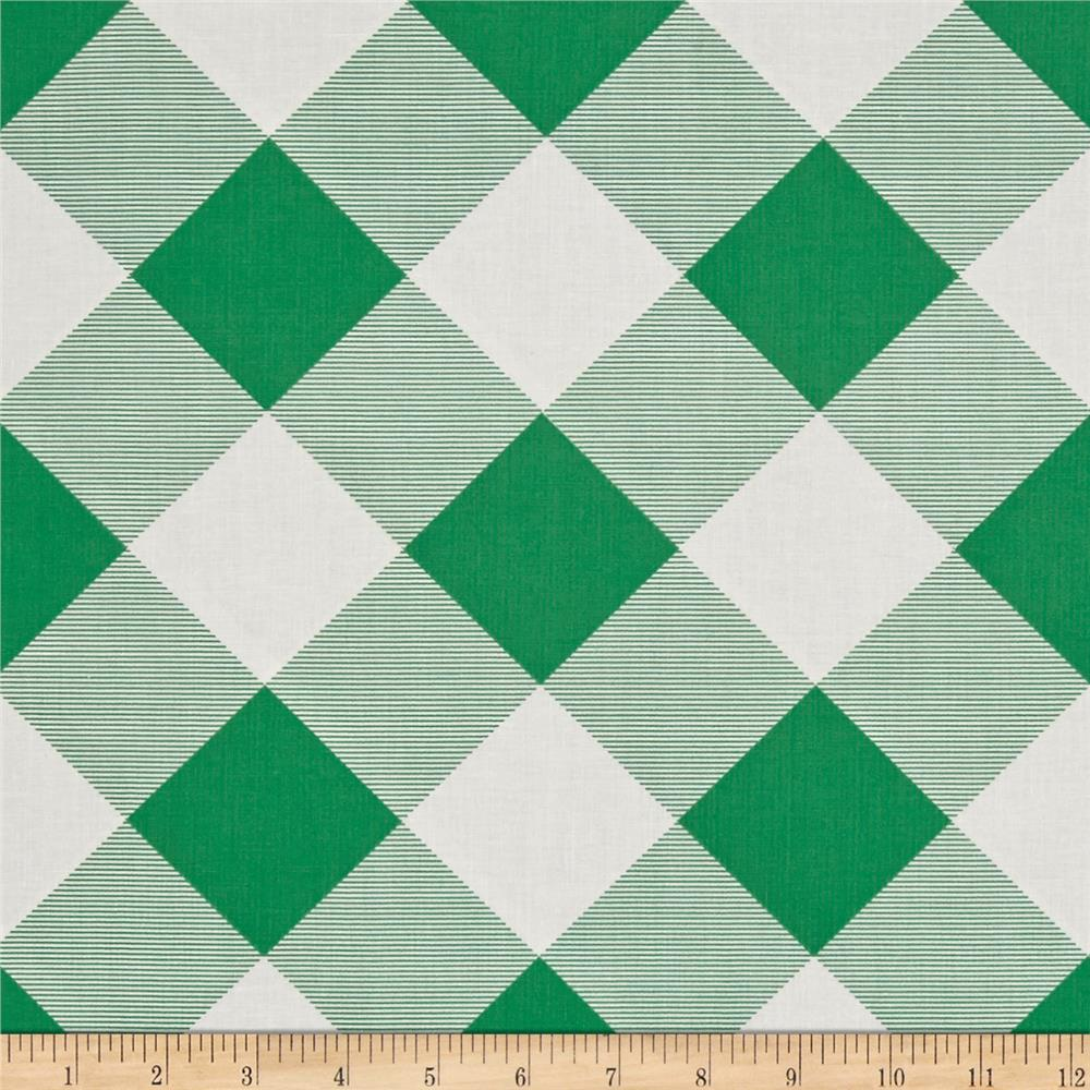 Joel Dewberry Modernist Pure Plaid Emerald
