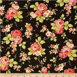 Moda Farmhouse Rose Midnight