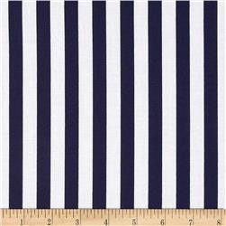 "Riley Blake 1/2"" Stripe Navy"