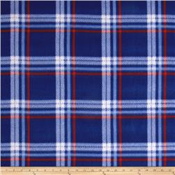 Fleece Plaid Red/Navy