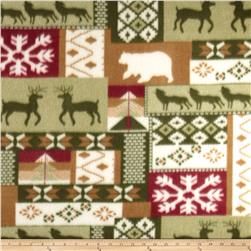 Fleece Print Greenland Multi