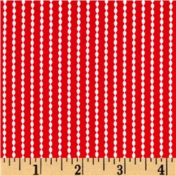 Riley Blake Sundance Stripe Red