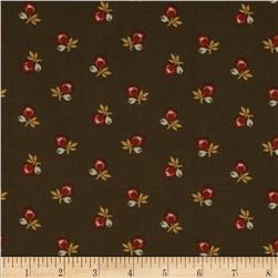Country Manor Medium Floral Brown