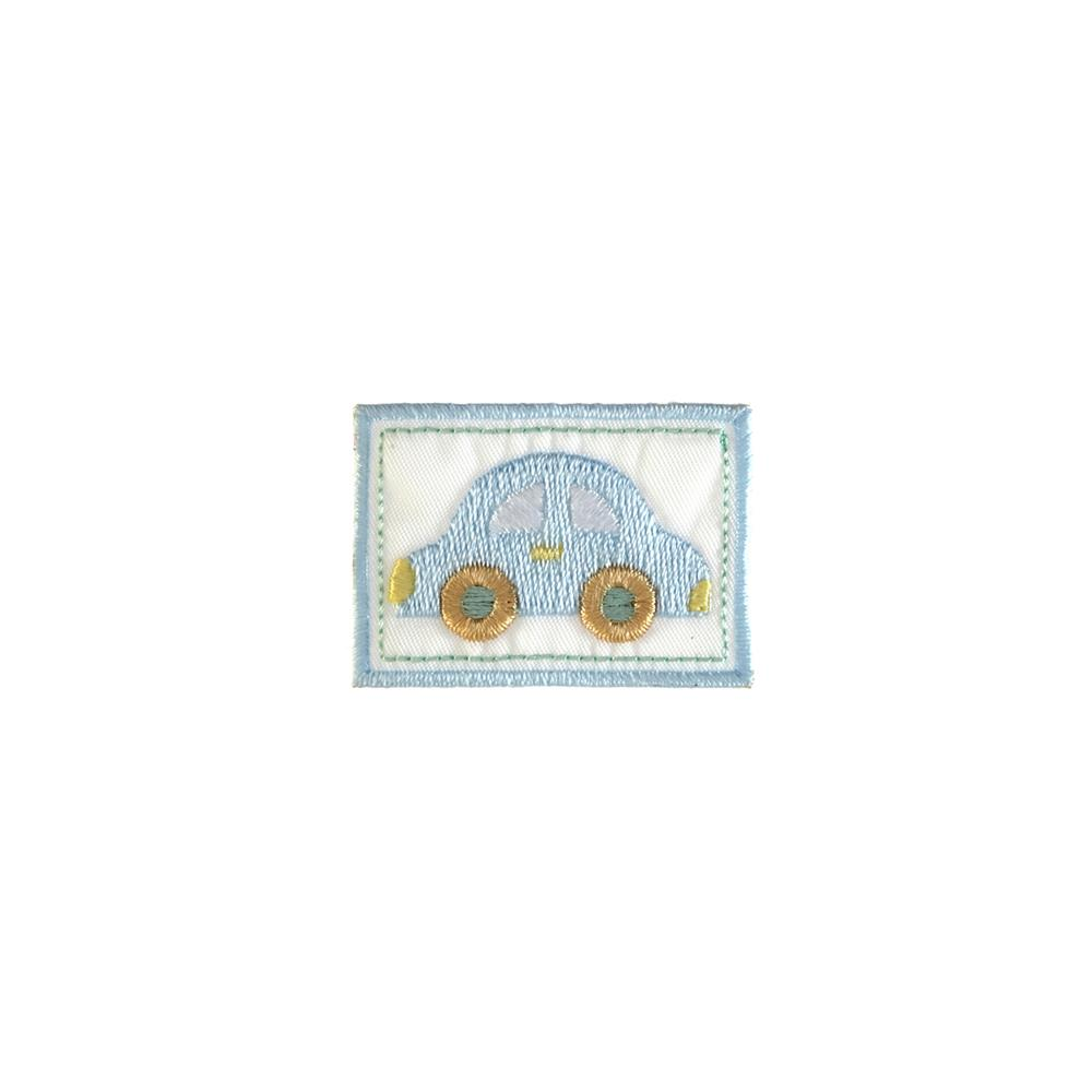 Twill Car Applique Light Blue