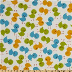 Urban Zoologie Baby Chicks Bermuda Fabric