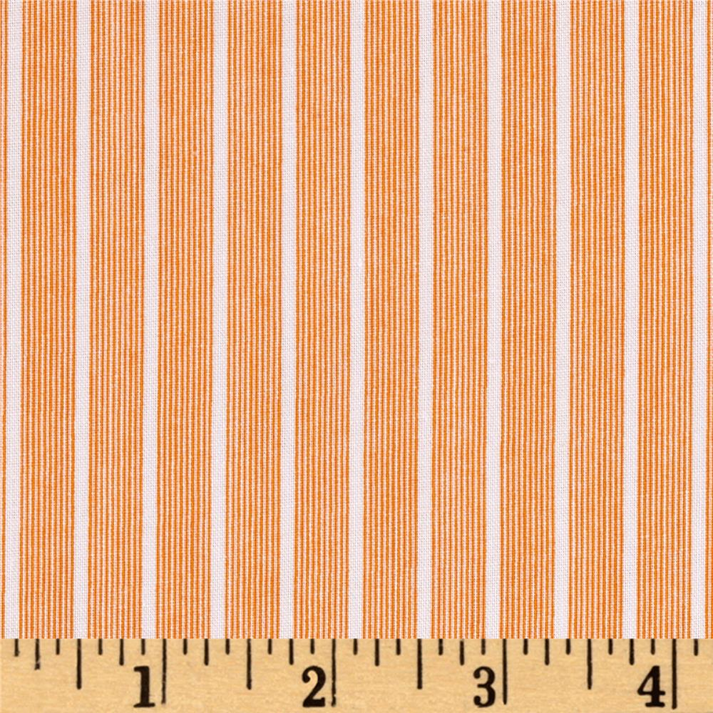 Windham Modern Country Fine Line Stripe  Cheddar