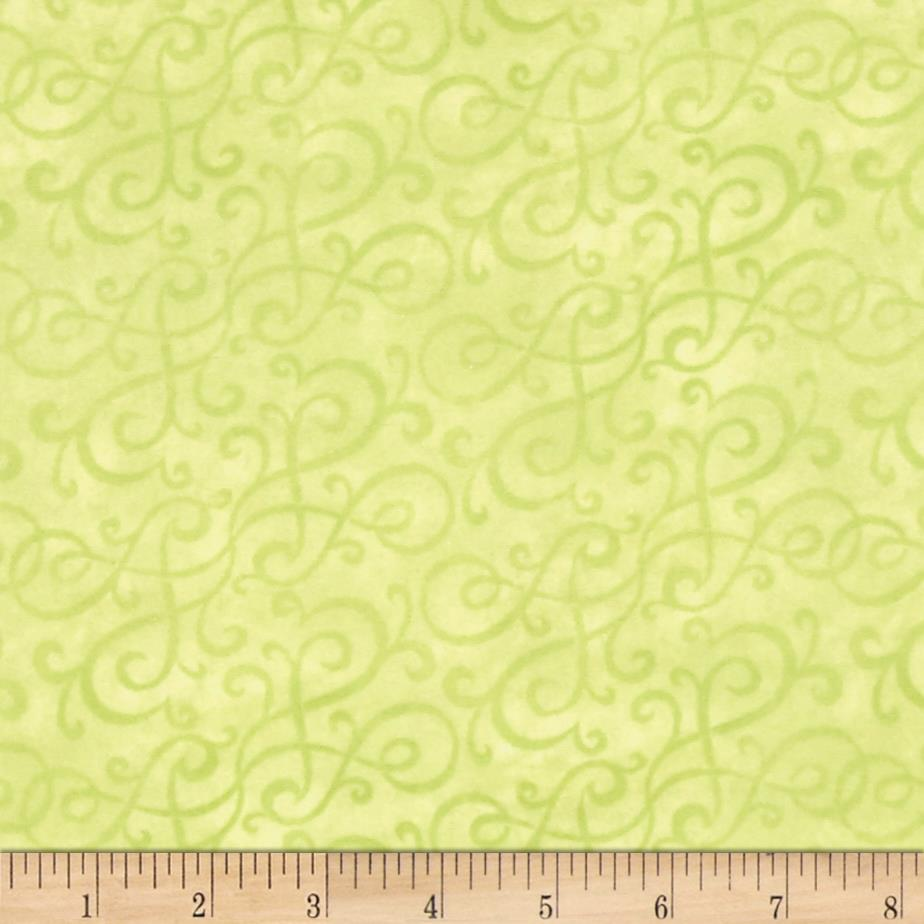 Flannel Scroll Mint