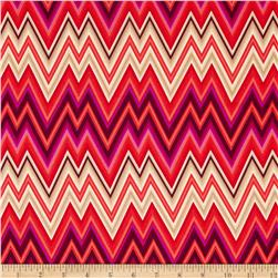 Mixxoni Chevron Stripe Flame