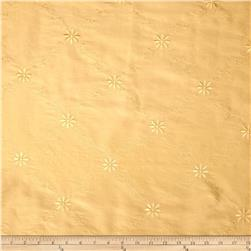 World Wide Celine Embroidered Diamond Taffeta Butter