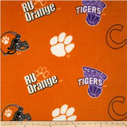 Collegiate Fleece University of Clemson Orange