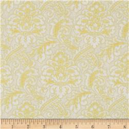 Moonlight Peacock Metallic Tapestry Cream/Gold Fabric