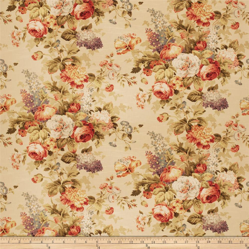 Fabricut Lolo Floral Basketweave Blossom