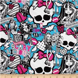 Monster High Perfectly Imperfect Blue/Pink/White
