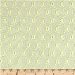 Trellis Lace Pale Yellow