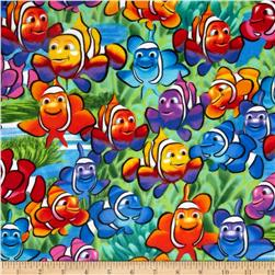 Timeless Treasures Flannel Clown Fish