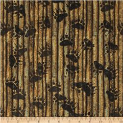 Elk Mountain Stripe Light Brown