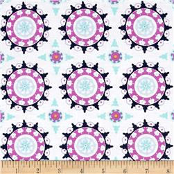 Riley Blake Lulabelle Medallion Cream