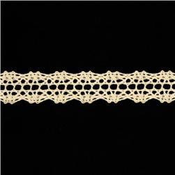"5/8"" Crochet Lace Trim Natural"