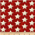 Henry Glass America The Beautiful Set Stars Red