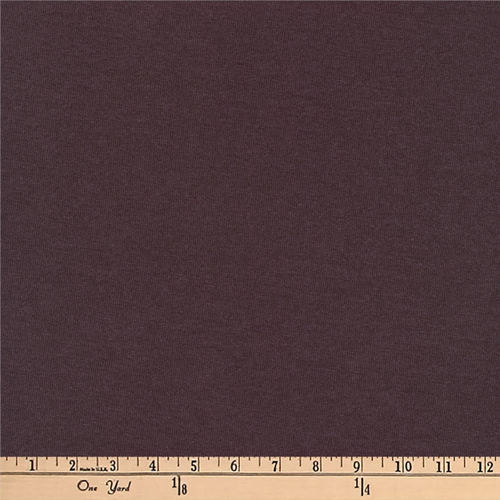 Kaufman Dana Jersey Knit 4.8 oz Dark Plum Fabric