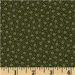 Molly B's 1800's Simply Christmas Dot Texture Green