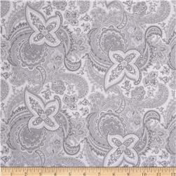 Gracious Skies Paisley Light Grey