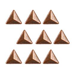 Copper Dome Triangle 24pc