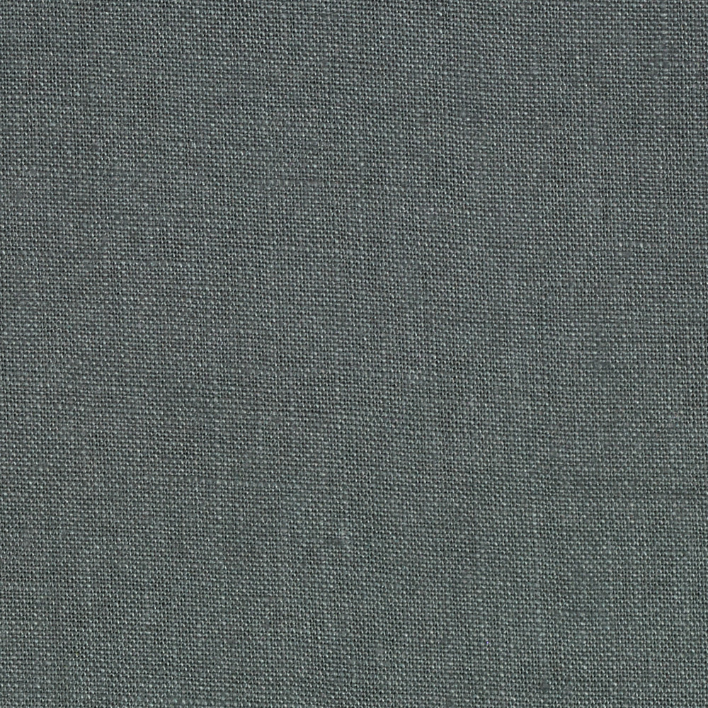 Image of Stonewashed Linen Steel Grey Fabric