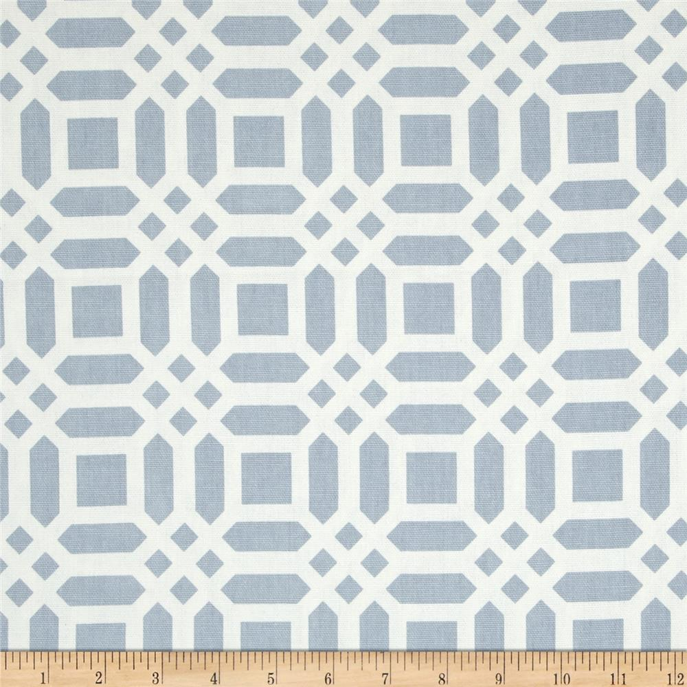 Riley Blake Home Decor Vivid Lattice Gray