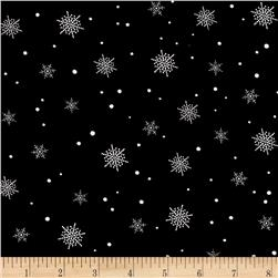 A Christmas To Remember Snowflake Black